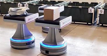 導入事例 | <br>NISSAがギークプラスの<br>ソーティングロボットを導入