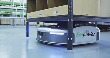 導入事例 | <br>Empowerは倉庫の完全自動化を<br>ギークプラスと共同で実現
