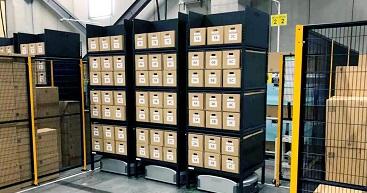 導入事例 | <br>日立物流のEC 事業者向けシェアリング自動倉庫